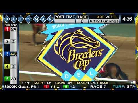 Skye Diamonds wins Rancho Bernardo Handicap (Gr. III), Race 6 08/13/2017