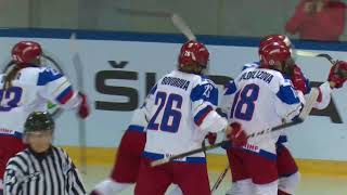 ЖМЧМ. Четвертьфинал. Россия - Финляндия 2:0