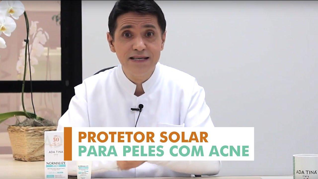 Protetor Solar Para Pele Com Acne E Poros Dilatados Normalize