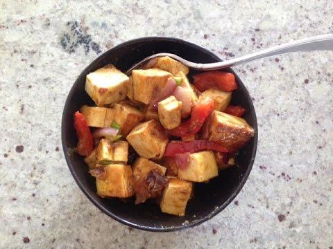 Easy Tofu Chilli Recipe (Quick Appetizer Ideas)