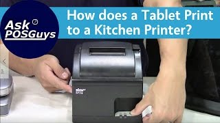 We show you how to connect your kitchen printer a wireless network and print from tablet, go over which printers are best for using with ...