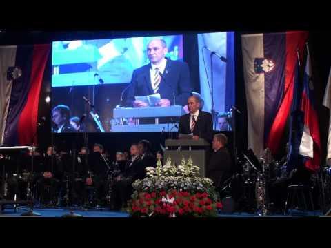 Janez Janša na prireditvi Za mojo Slovenijo, 25. 6. 2016