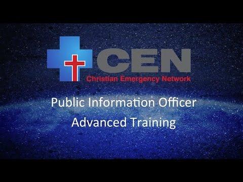 Public Information Officer  | Advanced Training