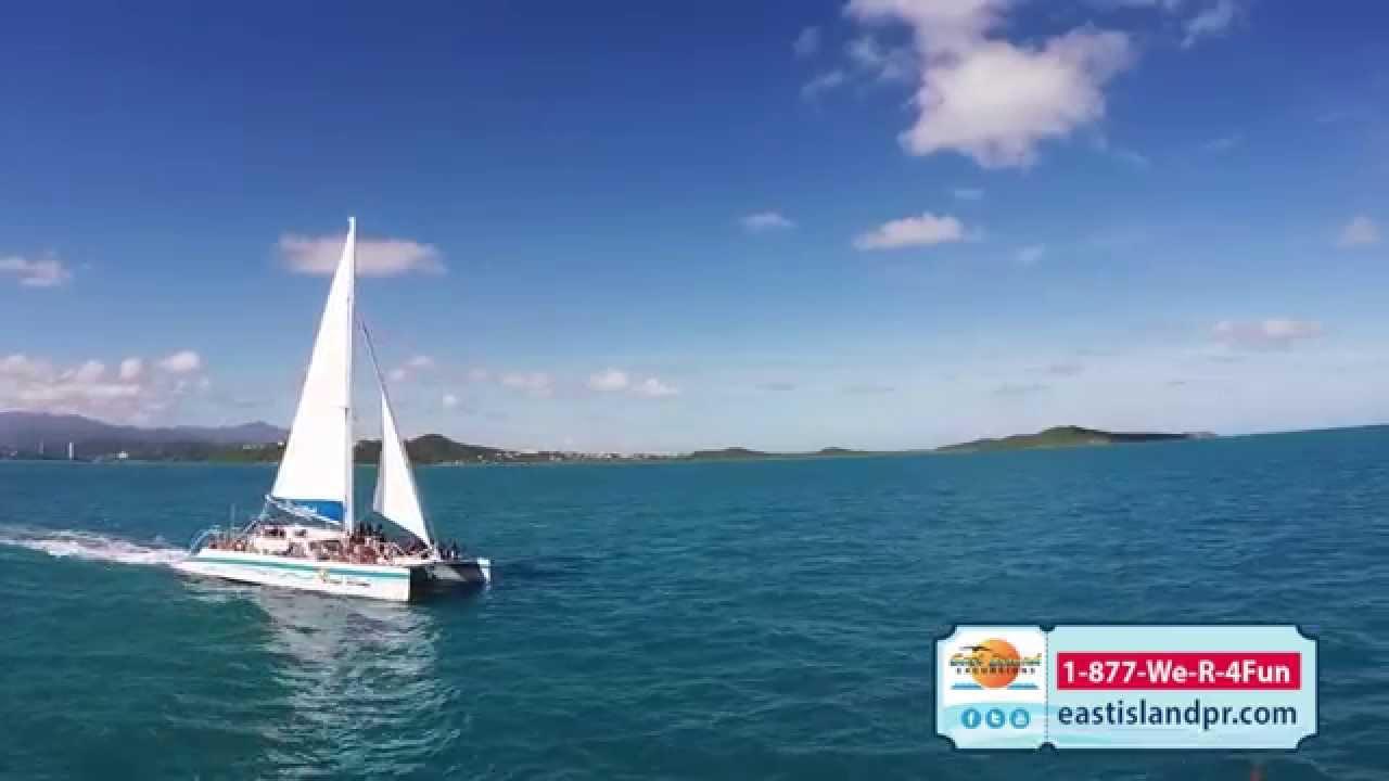 East Wind Catamaran East Island Excursions Fajardo Pr Youtube