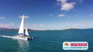 East Wind Catamaran,  East Island Excursions, Fajardo, PR