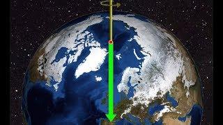 Северный полюс движется в сторону Лондона, довольно быстро.