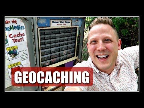 BEST TRAVEL BUG HOTEL GEOCACHE EVER?! (Geocaching)