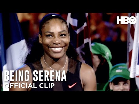 'Baby's First Grand Slam' Ep. 1 Official Clip | Being Serena | HBO