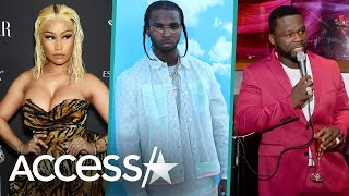 Nicki Minaj, 50 Cent & More Pay Tribute to the Late Pop Smoke
