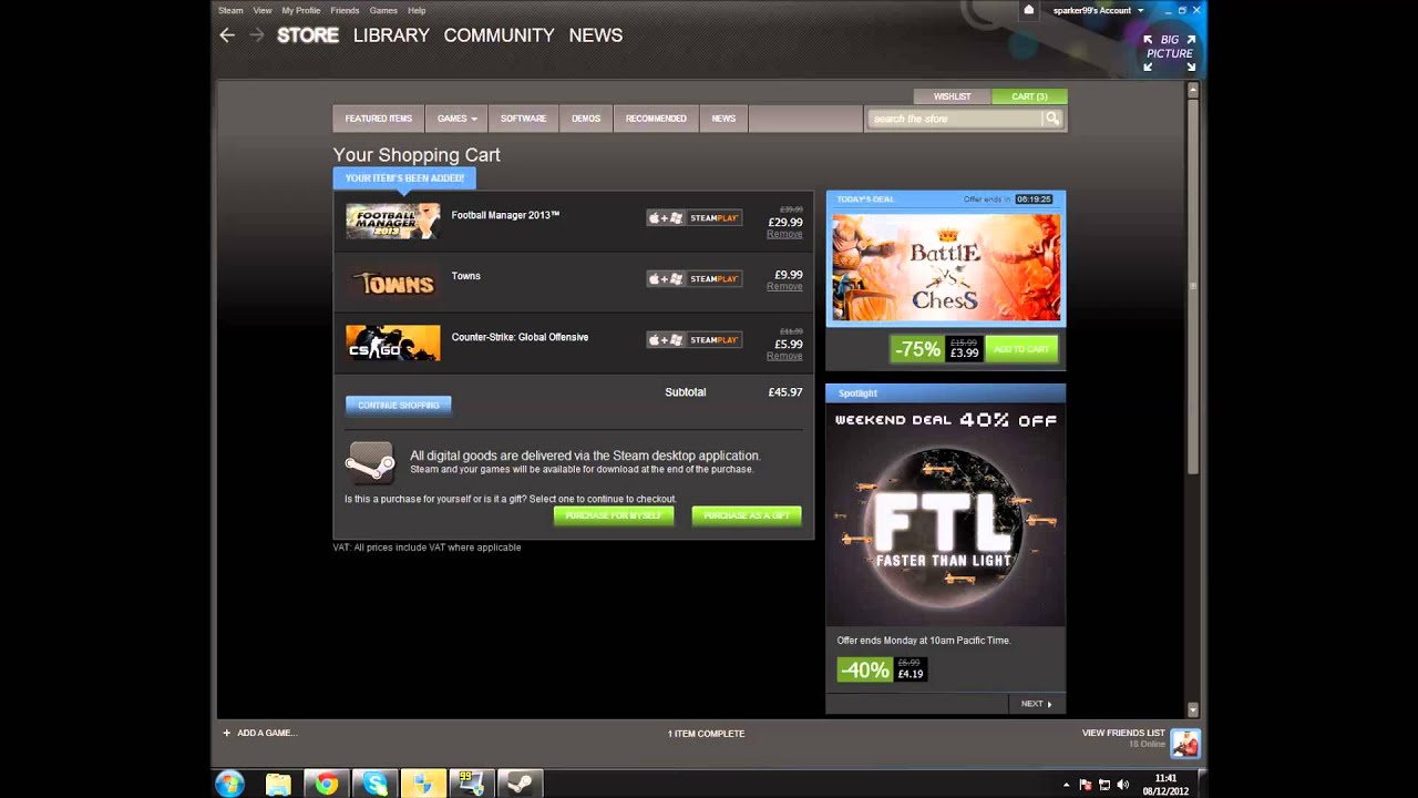How to buy and Install games on Steam  YouTube