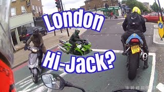 Motorcycle Theft London Attempted bike jacking on South circular SE23 1