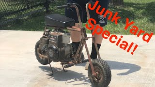Junkyard Mini Bike Build! | Mini Monday
