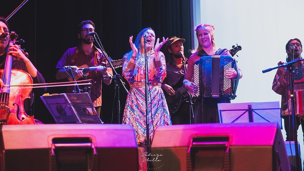 """""""Variid Gaskas"""" (en vivo) - VILDÁ + Ensamble Transatlántico de Folk Chileno"""