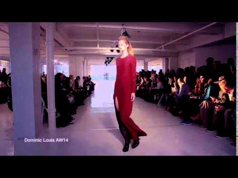 Nanette Scribas Cold Song at New York Fashion Week