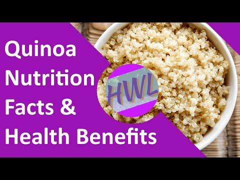 Quinoa: Nutrition Facts & Health Benefits