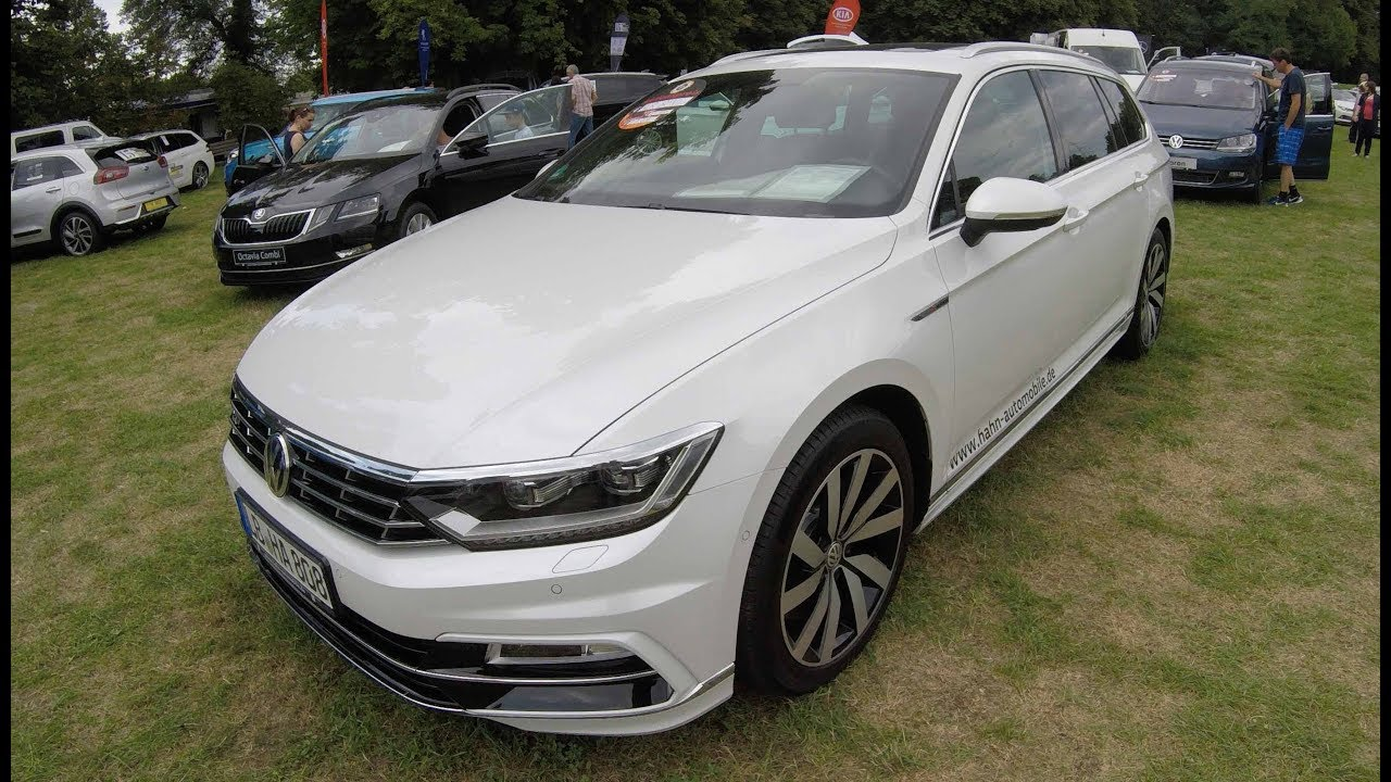 volkswagen vw passat r line b8 3g 2 0 tsi variant highline white colour walkaround. Black Bedroom Furniture Sets. Home Design Ideas