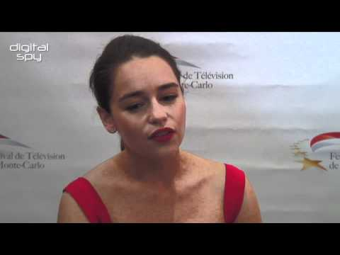 Emilia Clarke chats 'Game Of Thrones'