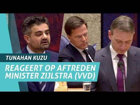 Tunahan Kuzu (DENK) reageert op aftreden Halbe Zijlstra (VVD)
