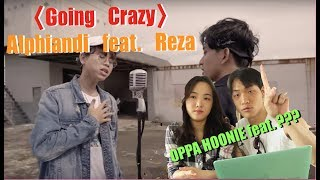 Gambar cover [oppa! HOONIE] REAKSI KOREA TREASURE13 'GOING CRAZY' COVER Alphiandi Feat. Reza Darmawangsa