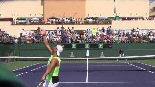 Rafael Nadal Marin Cilic 2017 BNP Paribas Open Practice Match 1080 HD
