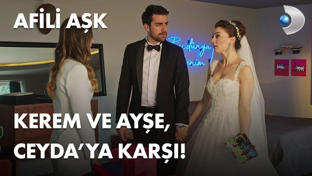Kerem ve Ayşe, Ceyda ya karşı! - Afili Aşk 3. Bölüm