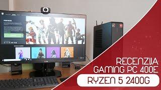 Gaming PC Za 400e | Ryzen 5 2400G | Fortnite PUBG GTA V Test