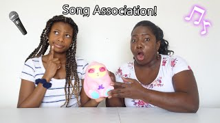 Song Association Game Mom Vs Daughter!