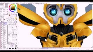 Energon bugs~ TFP Bumblebee speed paint