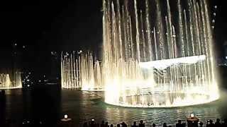 Dubai Fountain HD: The Magnificent Seven - 02.07.2014