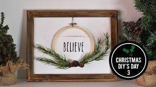 Christmas DIY's Day 3 - DIY Farmhouse Christmas Decor