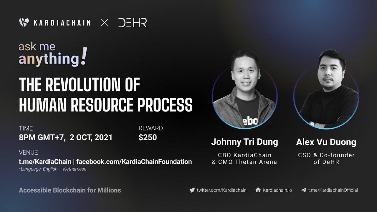 KAI x DeHR AMA: The Revolution of Human Resources process