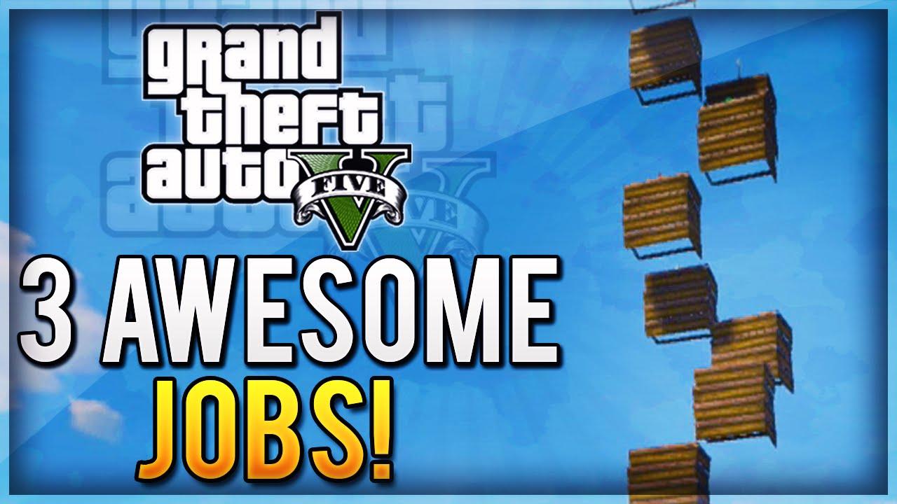 Download GTA 5 EPIC JOBS - 3 Fun Gamemodes Online (Tower Of