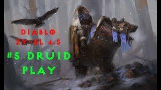 Diablo 2 Zy-El 4.5 прохождение Druid #5 Жирная Дуриэль