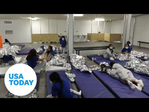 Video shows conditions of border facilities   USA TODAY