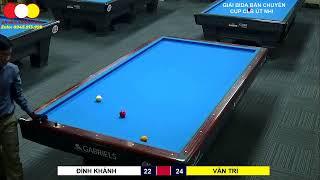 Billiards 3C Bán Chuyên Cup Út Nhi. VĂN TRÍ - ĐÌNH KHÁNH
