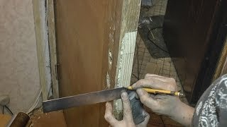 видео Самостоятельно укрепить входные двери. Ограбление не состоится.
