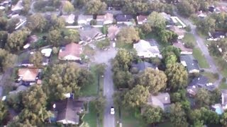 Some Smooth Flying In Light Rain W/ Ar.drone 2.0