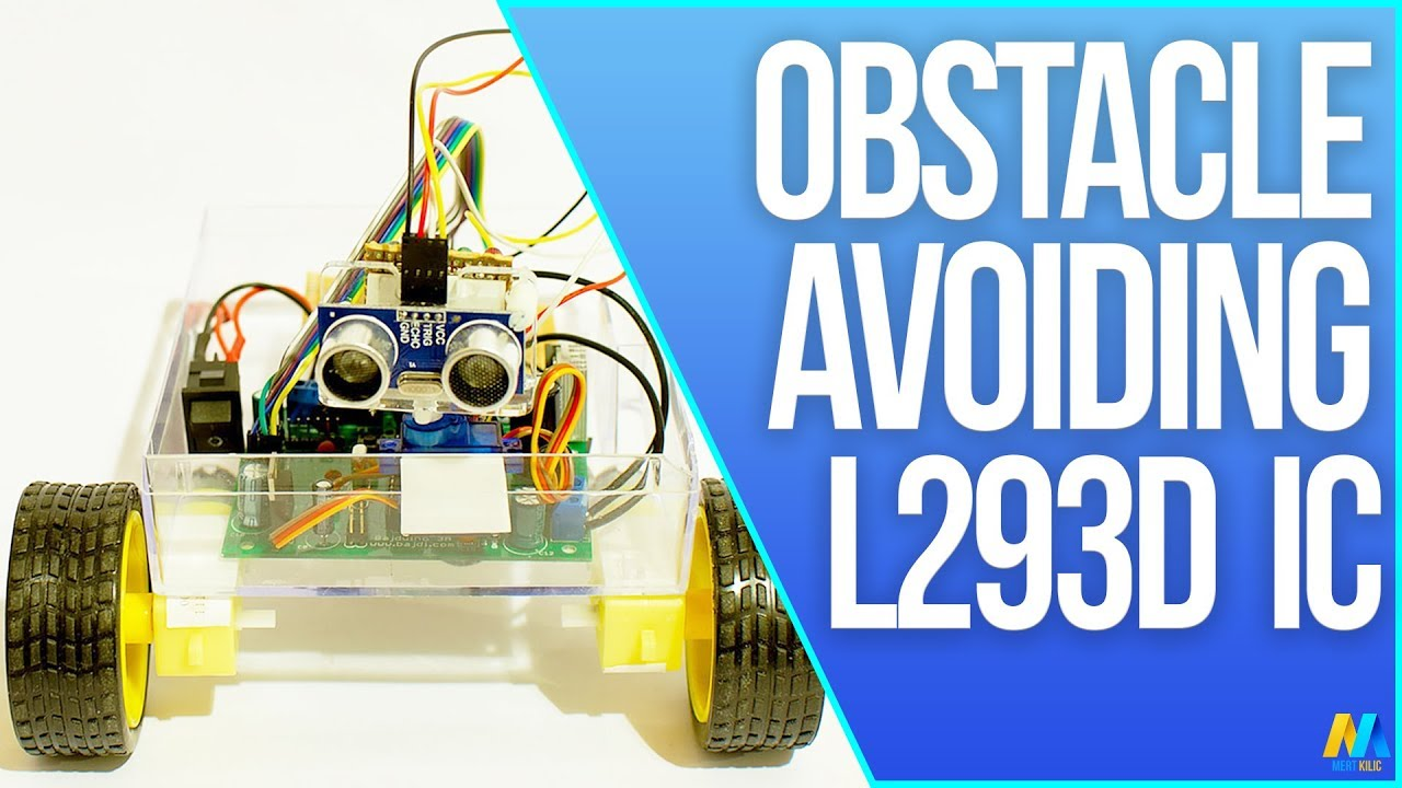 Arduino Obstacle Avoiding Robot (using L293D Motor Driver IC)