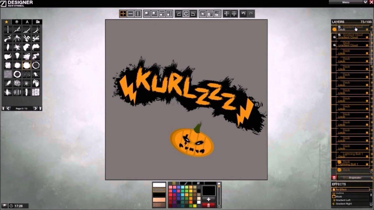 jg-designs - name tag - (kurlzzz halloween edition) - youtube