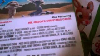 The Original Christmas Classics DVD 2 Disc set unboxing Video