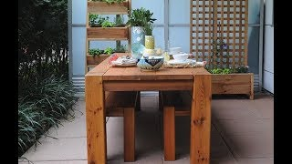 How to build : Modern Dining Table - RealCedar.com