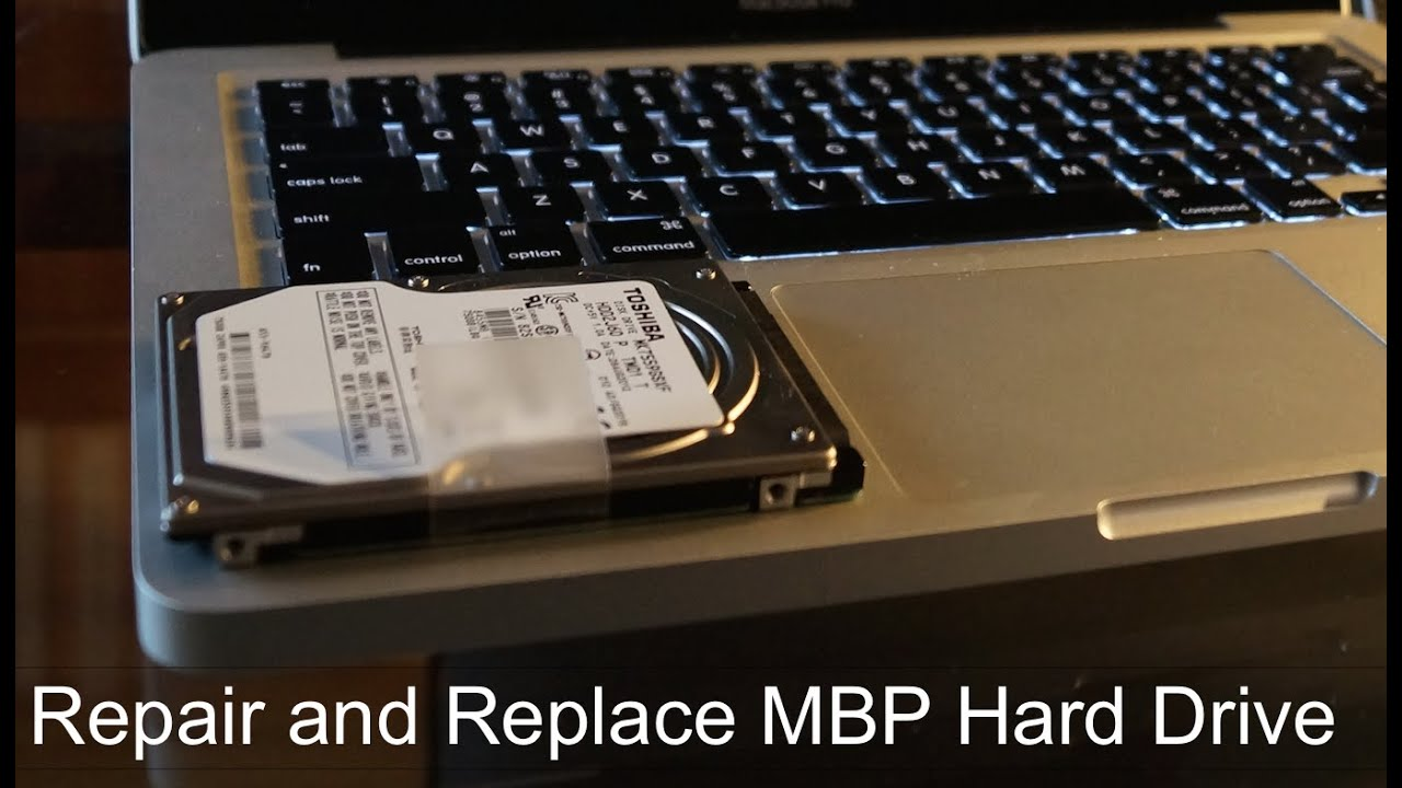 repair macbook pro 13 inch hard drive failing hard drive replacement or repair youtube. Black Bedroom Furniture Sets. Home Design Ideas