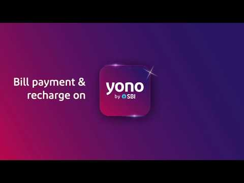 Bill Payments On YONO
