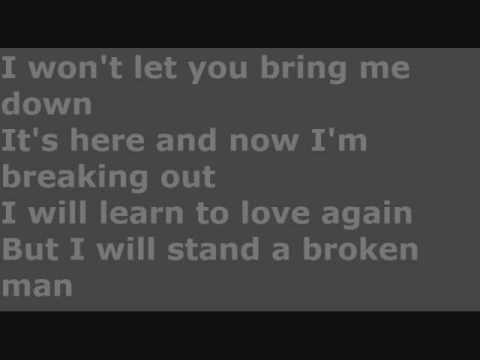 Boys Like Girls  Broken Man  Lyrics