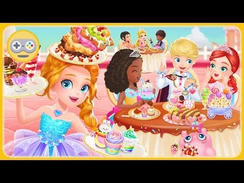 Принцесса Либби Мастер десертов - кулинарная игра для девочек * Готовь сладости в королевском кафе