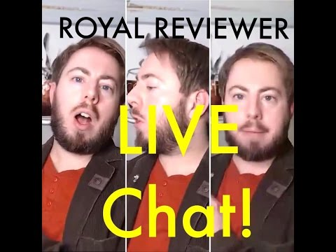 Royal Reviewer LIVE Weekly Q&A Chat (21/01/17) Inc. BOOK Club Launch!