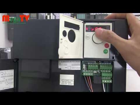 Hướng dẫn cài đặt Biến tần Schneider ATV312 đấu nối điều khiển - động lực