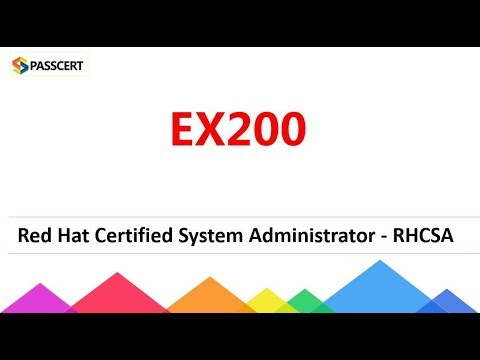 [2018 Update] RHCSA EX200 Red Hat Certified System Administrator Dumps