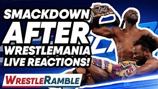 WWE Smackdown Live After WrestleMania 35 LIVE Reactions! | WrestleTalk's WrestleRamble