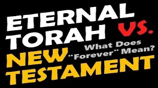 ETERNAL TORAH vs. NEW TESTAMENT: Rabbi Skobac (Jews for Jesus, Messianic Jewish Christians, Messiah)